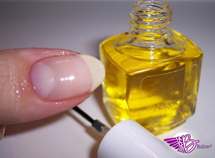 basler nagelöl auftragen