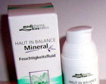 Medipharma Cosmetics HAUT IN BALANCE Hautrein Mineral Feuchtigkeitsfluid