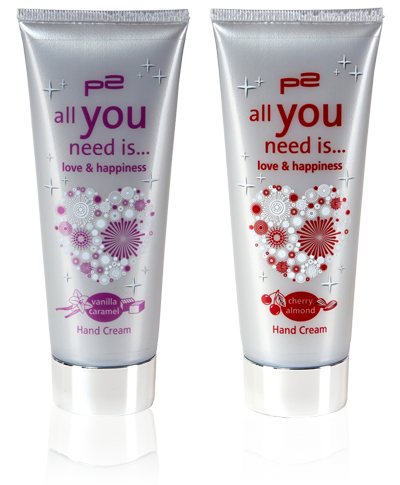 """P2 Cosmetics """"All you need is... """" Limited Edition"""