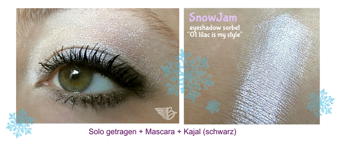 Look mit Eyeshadow Sorbet 01 lilac is my style