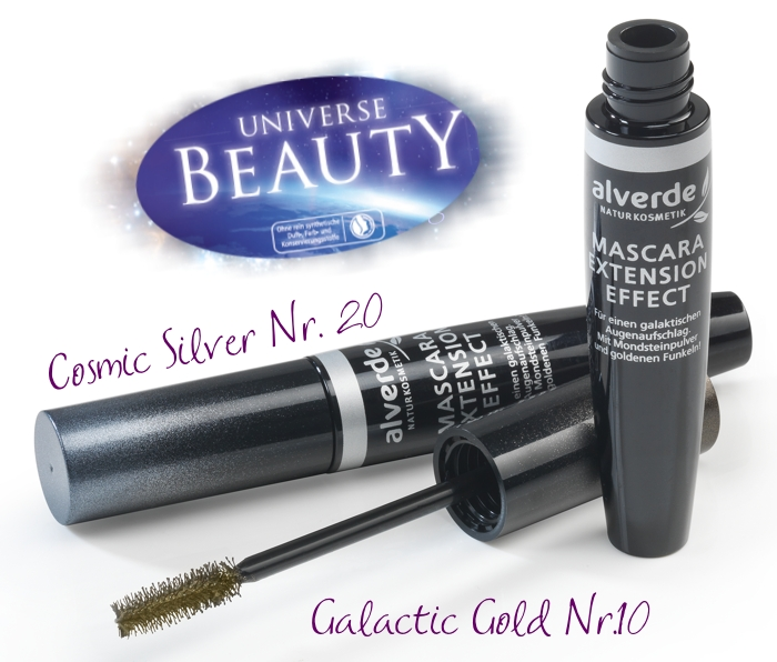 ALVERDE Universe Beauty Mascara Extension Effekt