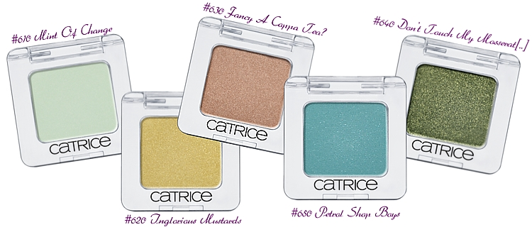 CATRICE Absolute Eye Colour Mono Eye Shadow