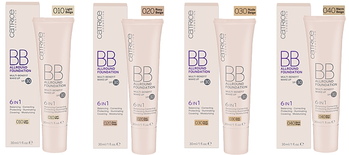 CATRICE BB Allround Foundation Multi-Benefit Make Up