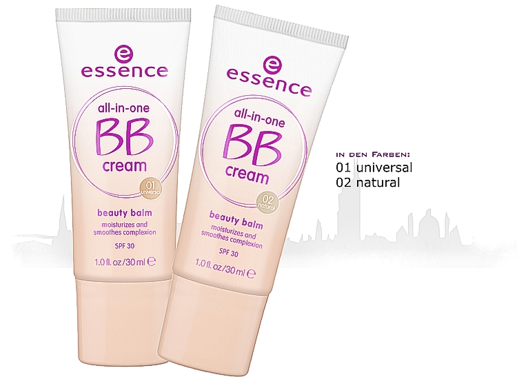 essence new in town all-in-one BB cream