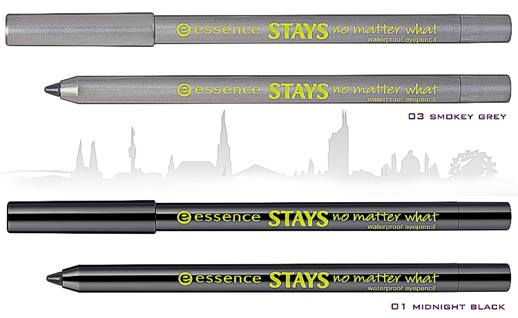 essence new in town – stays no matter what waterproof eye pencil