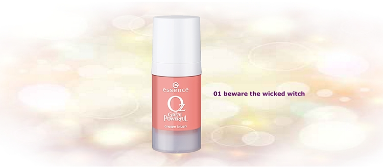 essence oz the great and powerful – cream blush