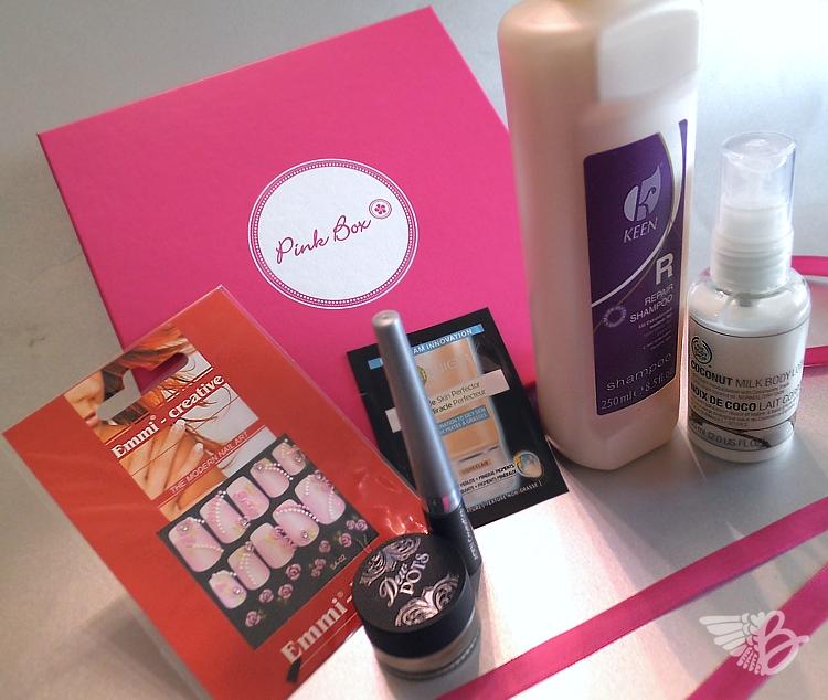 pinkbox März 2012 alle Produkte