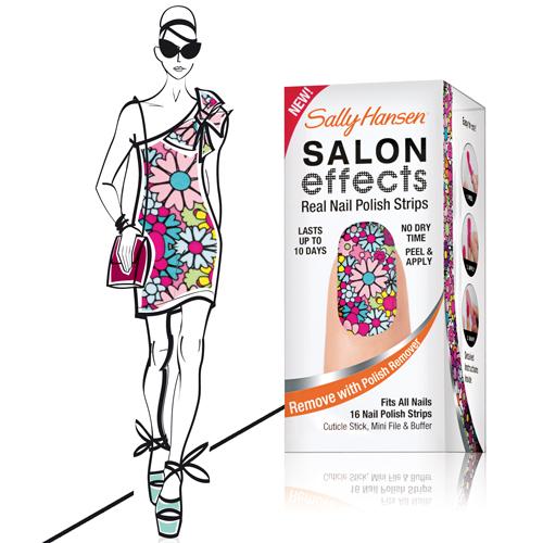 Sally Hansen Nagellackstreifen sally-hansen-salon-effects-girl-flower1