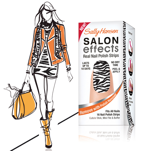 sally hansen nagellackstreifen -salon-effects-wild-child