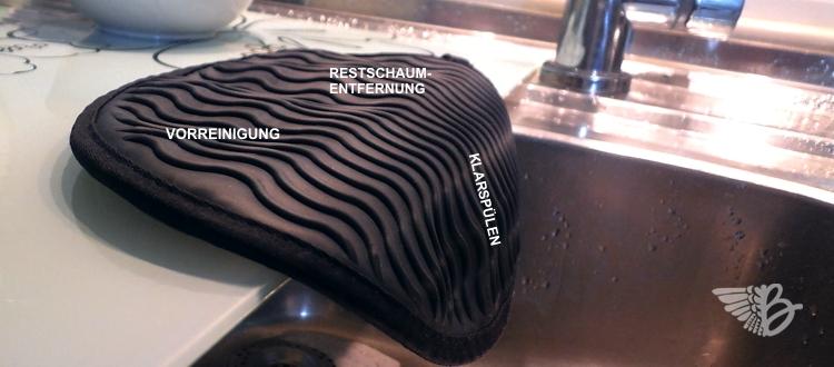 silikon-obenhandschuh