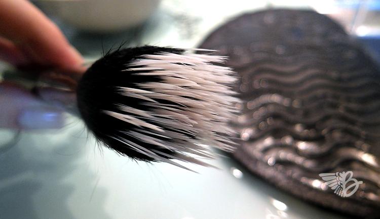 sigma spa brush cleaning glove vs silikontopflappen. Black Bedroom Furniture Sets. Home Design Ideas