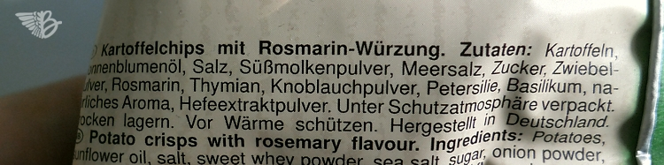 Naturals mit Rosmarin