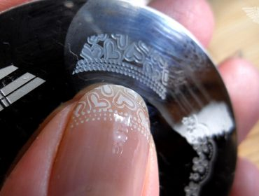 Nailart nagellack stamping