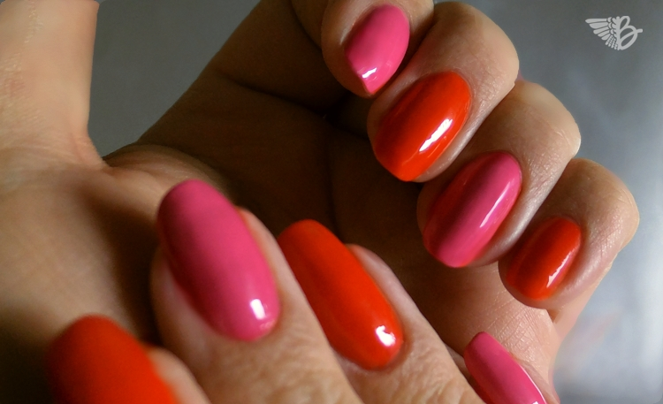 ARTDECO Color & Art Nr. 03 - hot hot pink | Nr. 80 fresh orange