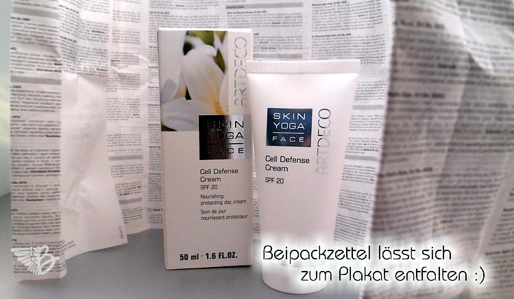 ARTDECO Skin Yoga Face - Cell Defense Cream