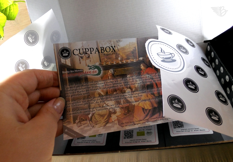 Cuppabox August 2013