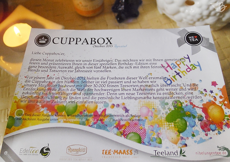 Happy Birthday Cuppabox