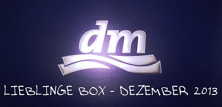 DM Lieblinge Box Dezember 2013