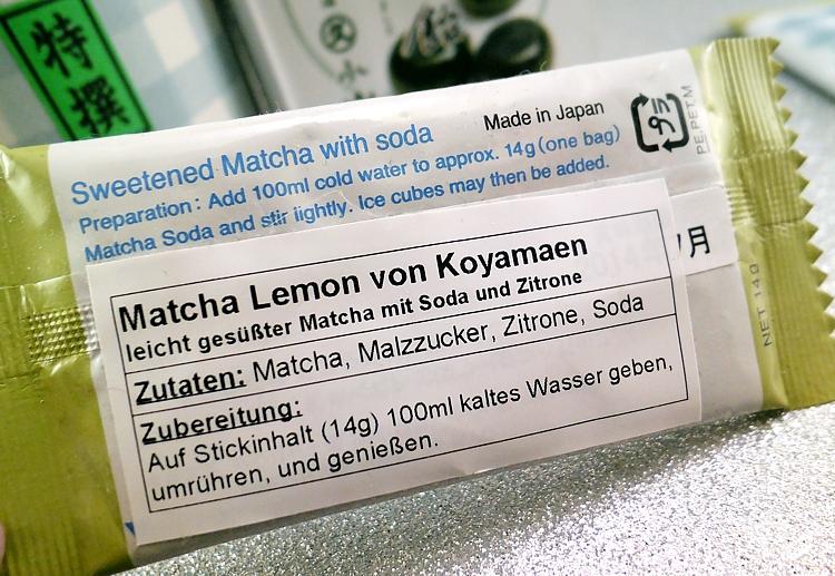 Koyamaen Matcha lemon