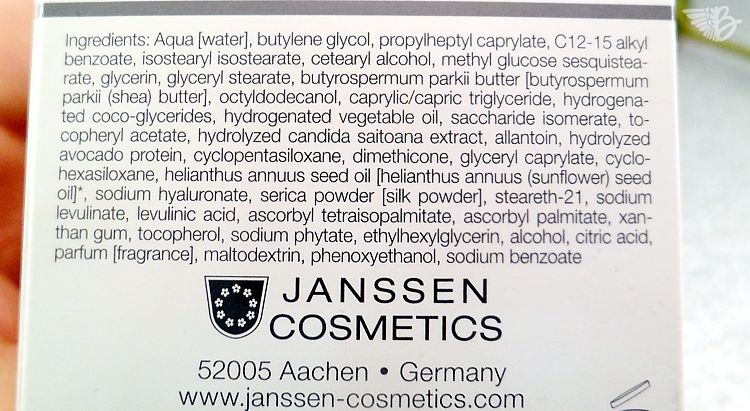 Janssen Cosmetics Detox Cream