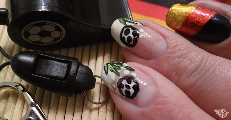 WM 2014 NailArt