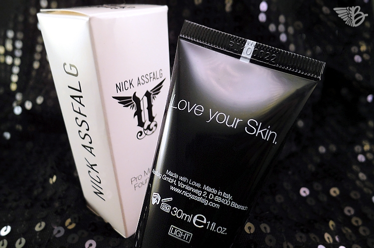 Nick Assfalg Pro Make-up Foundation