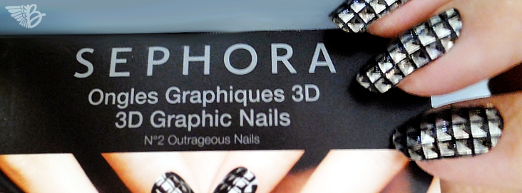 Sephora 3D Graphic Nails