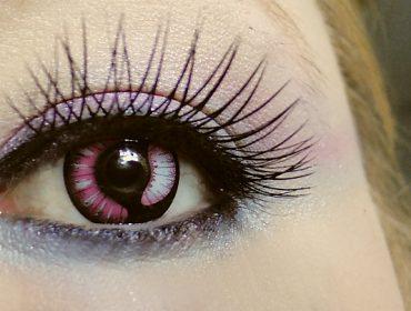 farbige kontaktlinse