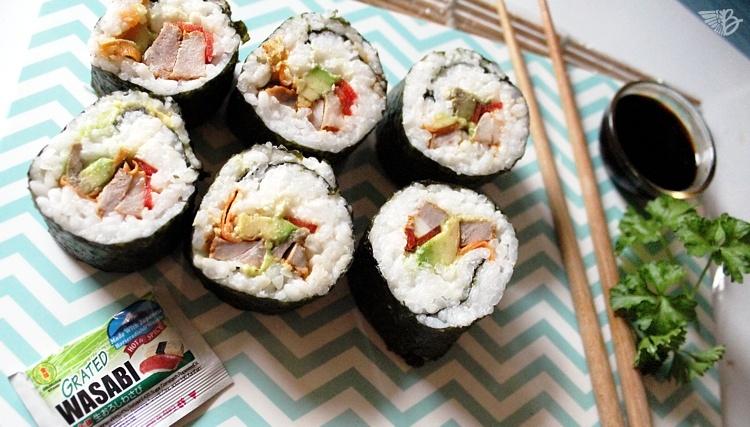 Sushi mit Fleisch Saarland-Schwenker-Sushi-Schwushi-rezept-resteverwertung