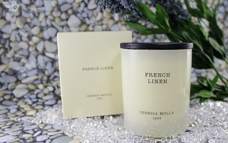 "Duftkerze ""French Linen"" Cereria Mollá"