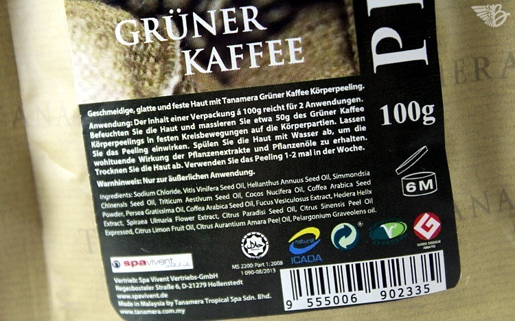 greencoffee peeling