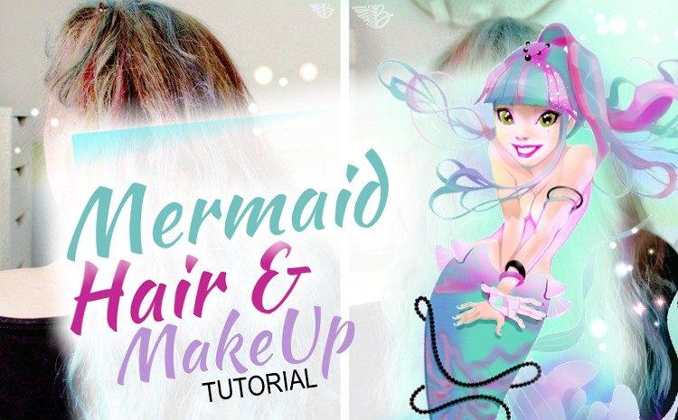 diy mermaid hair tutorial ombre look-teaserbild