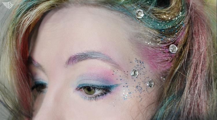 meerjungfrau makeup