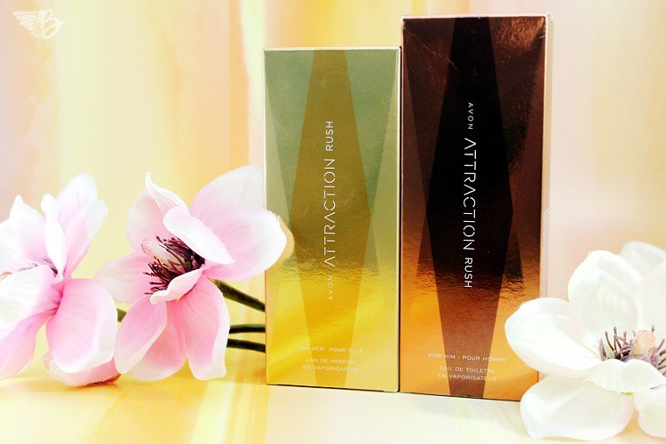 AVON Attraction Rush Parfum Verpackung
