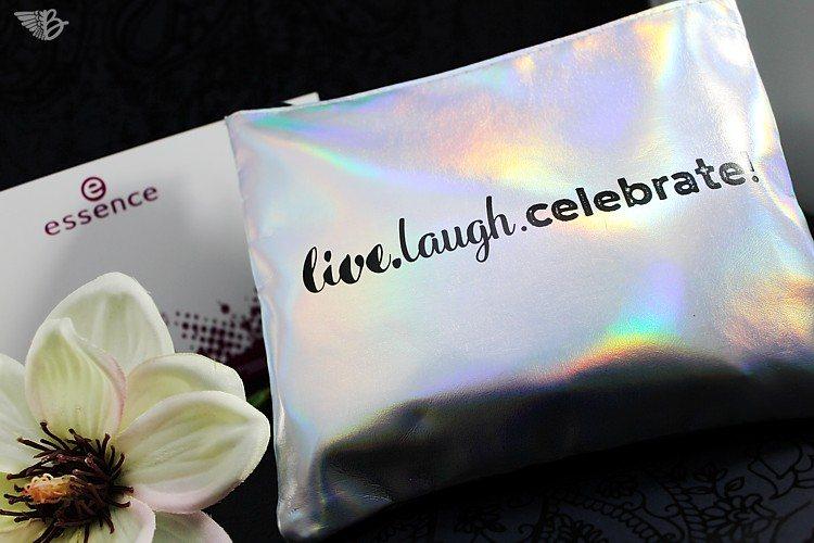 essence live laugh celebrate tasche trend edition
