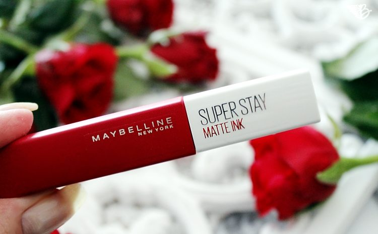 Maybelline Super Stay Matte Ink review nr20 pioneer