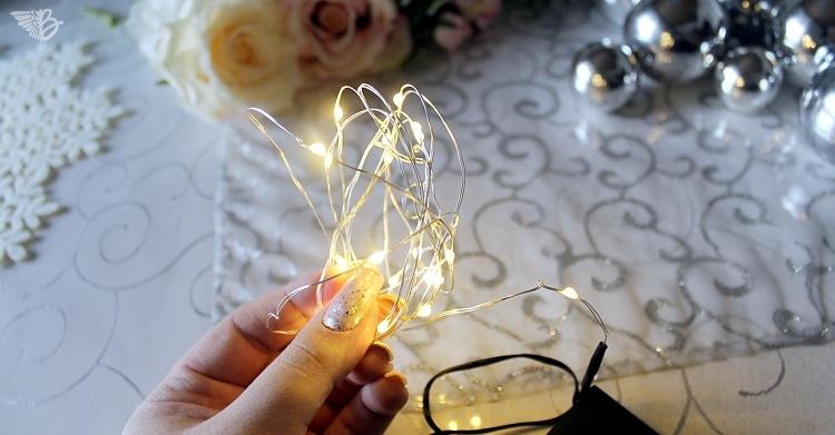 drahtlichterkette weihnachtsdeko