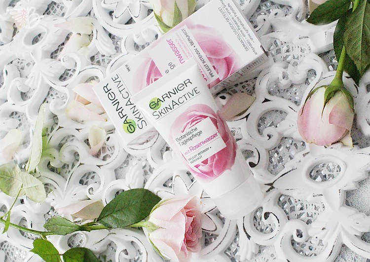 Garnier Skin Active Botanische Tagespflege Rosenwasser