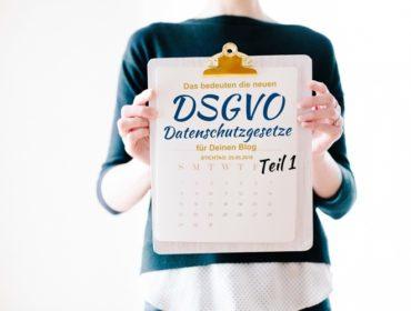 DSGVO Datenschutzgesetze
