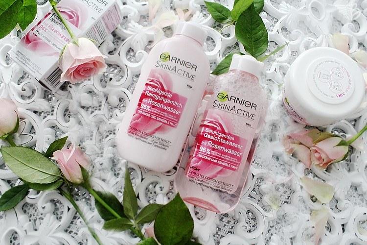 garnier skin active rosenwasser hautpflege botanische kosmetik. Black Bedroom Furniture Sets. Home Design Ideas