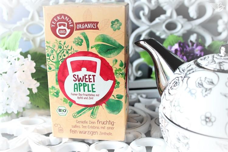Teekanne Organics SweetApple-Verpackung