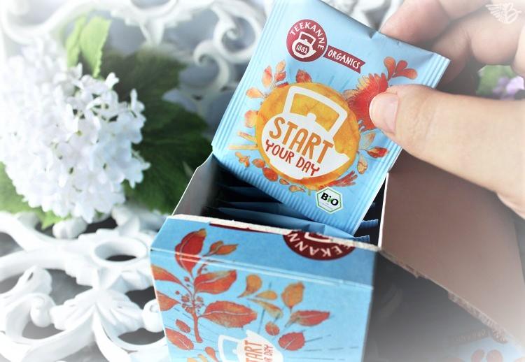 startyourday Teekanne Organics