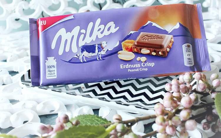 Milka Peanut Erdnuss Crisp Schokolade
