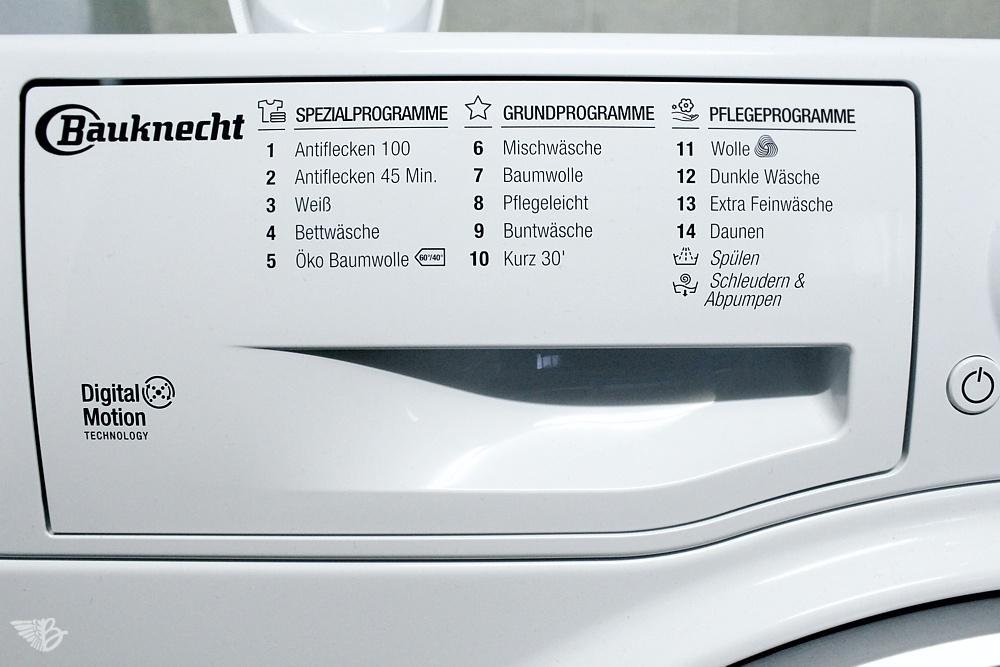 Waschmittelschublade Bauknecht Waschmaschine WM Steam 7 100