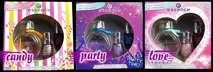essence fragrance XMAS Geschenksets