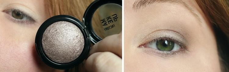 baked eyeshadow auftragen