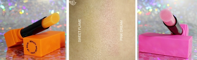 Beauty Made Easy swatches
