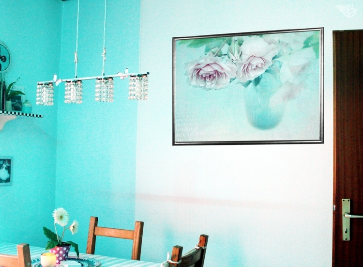 Wandbild mit Rahmen