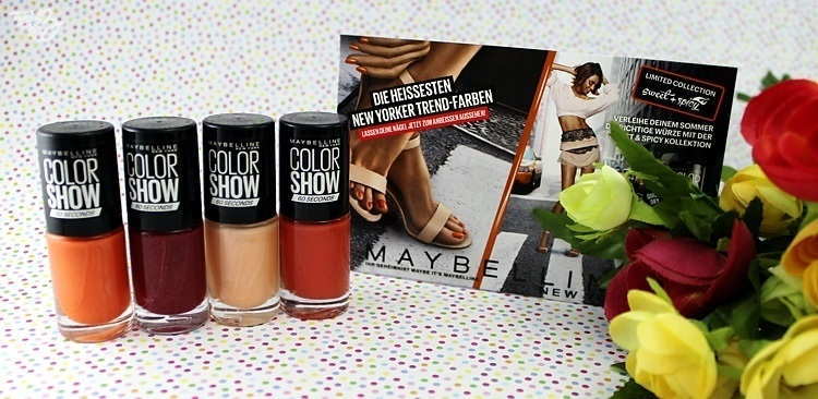 Maybelline Color Show Sweet & Spicy