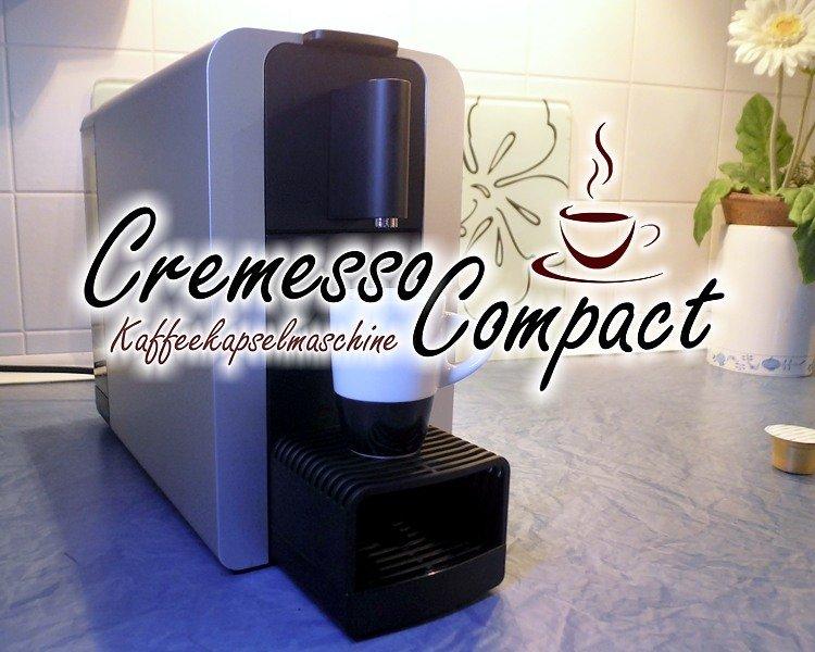 Cremesso Compact One Kaffeekapselmaschine